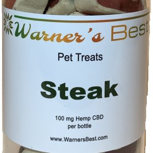 Stek flavor CBD Pet treats