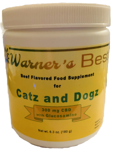 Catz and Dogz powder supplement with CBD