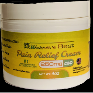 4 oz. 250mg CBD Pain Cream