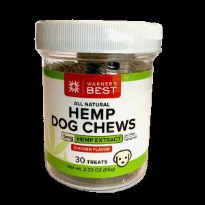 Hemp Dog Chews from Warner's Best